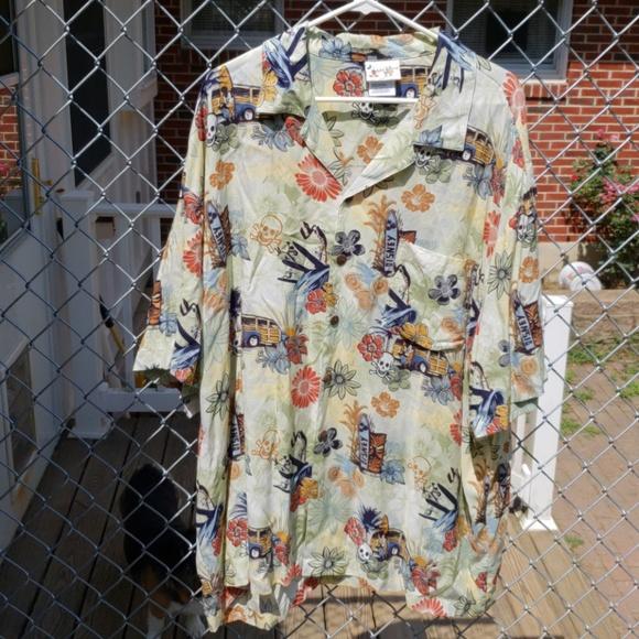 a29a7231 Disney Shirts | Rare World Polynesian Resort Hawaiian Shirt | Poshmark